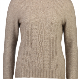 Mcdonald   圆领美丽诺羊毛衫上衣(蕾丝编织)